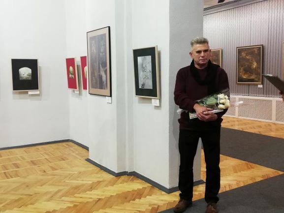 Выставка «Тень ветра» Юрия Хилько открылась в Барановичах
