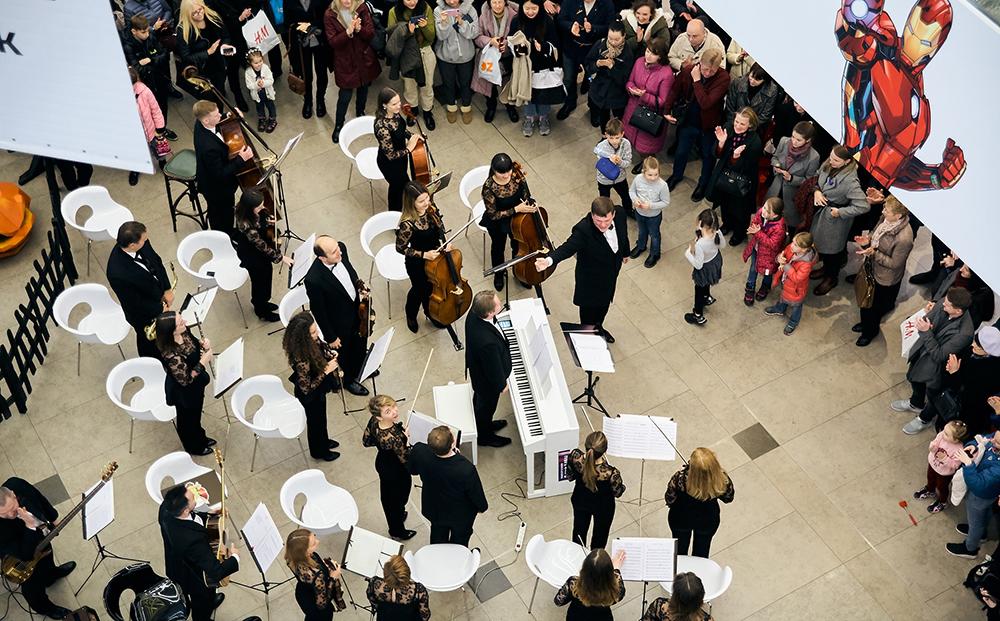 Президентский оркестр Республики Беларусь отмечает День пианиста 8 ноября. Фото: Константин КУЗНЕЦОВ