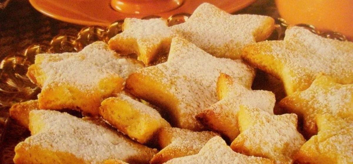 Вкусно и просто. Печенье «Звездочка» на кефире