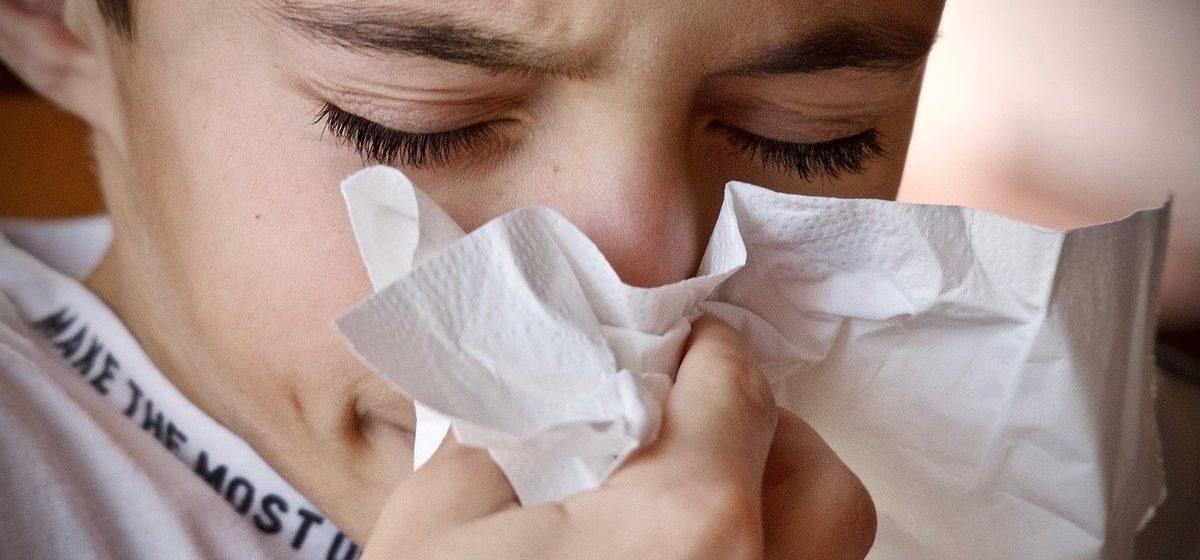 Рост заболеваемости острыми респираторными инфекциями наблюдается в Барановичах