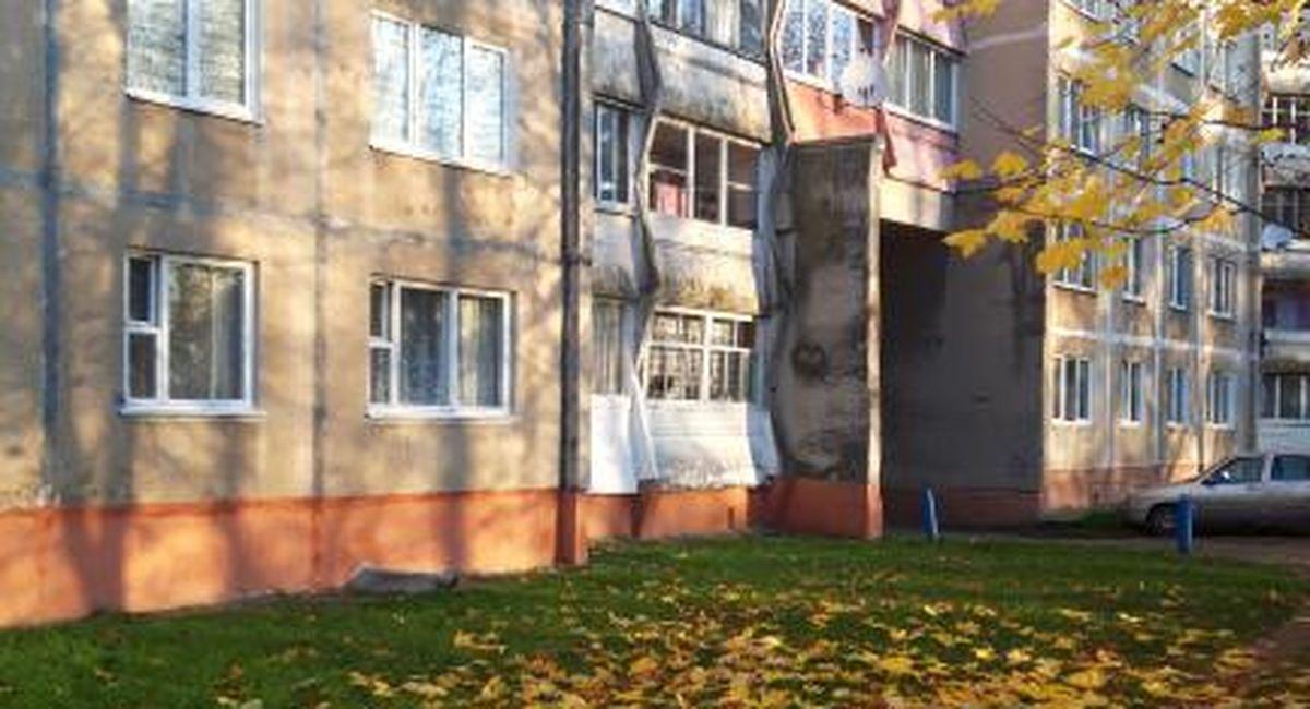 Изображение на стене дома в Северном микрорайоне. Фото горожанки Натальи