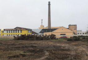 Зачем вырубили сквер в Барановичах