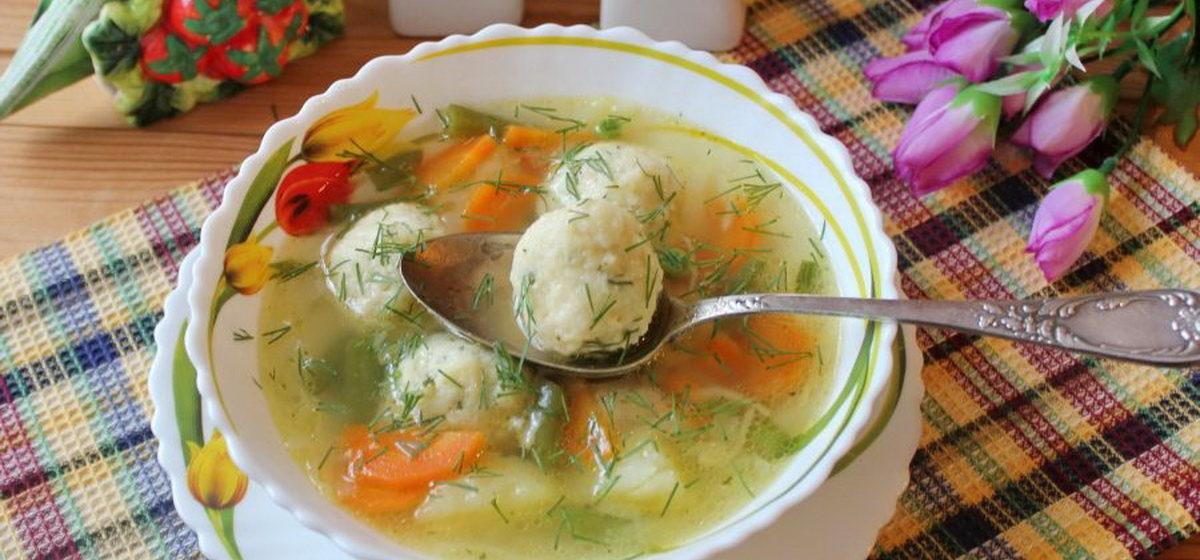 Вкусно и просто. Овощной суп с сырными шариками