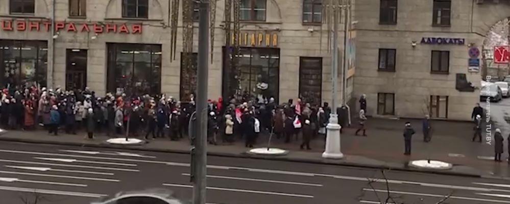 «Марш мудрости». Что происходит в Беларуси 30 ноября. Обновляется