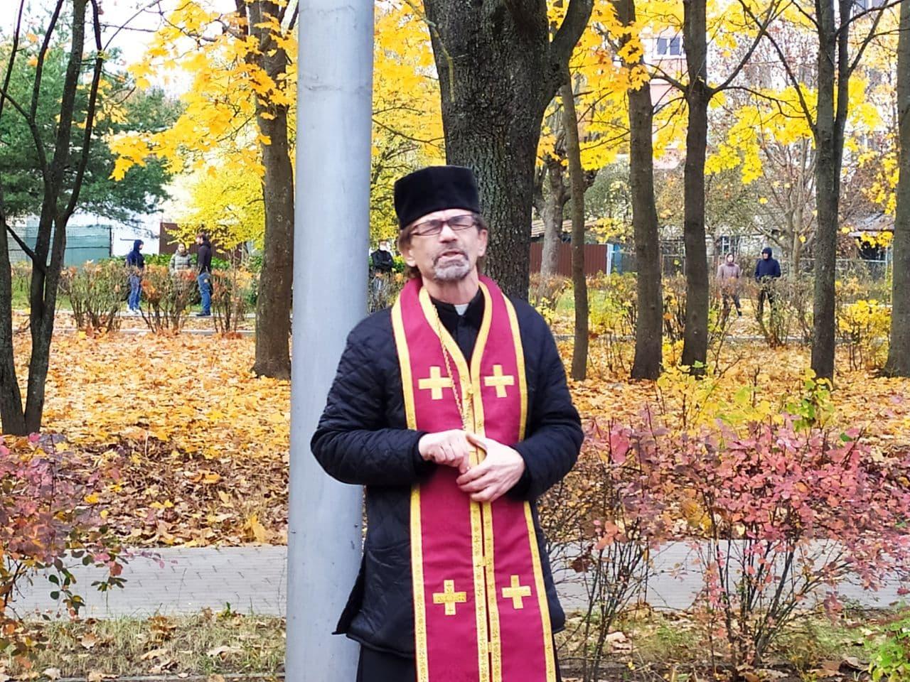 Отец Евгений Малиновский. Фото: Intex-press