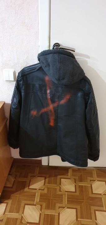 Фото: так выглядит куртка Павла Кабуша после задержания, фото предоставлено героем