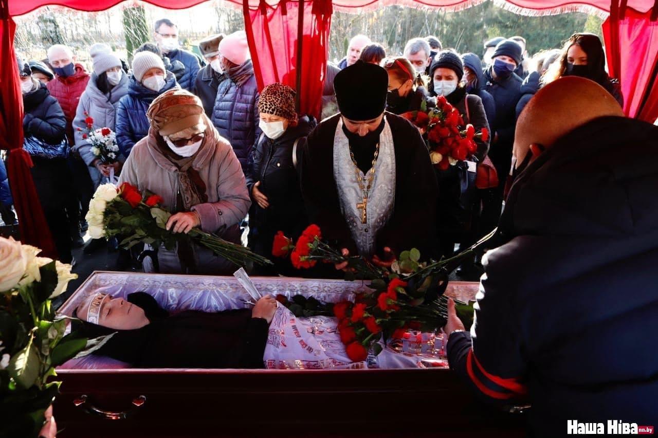 Похороны Романа Бондаренко Фото: Наша Ніва