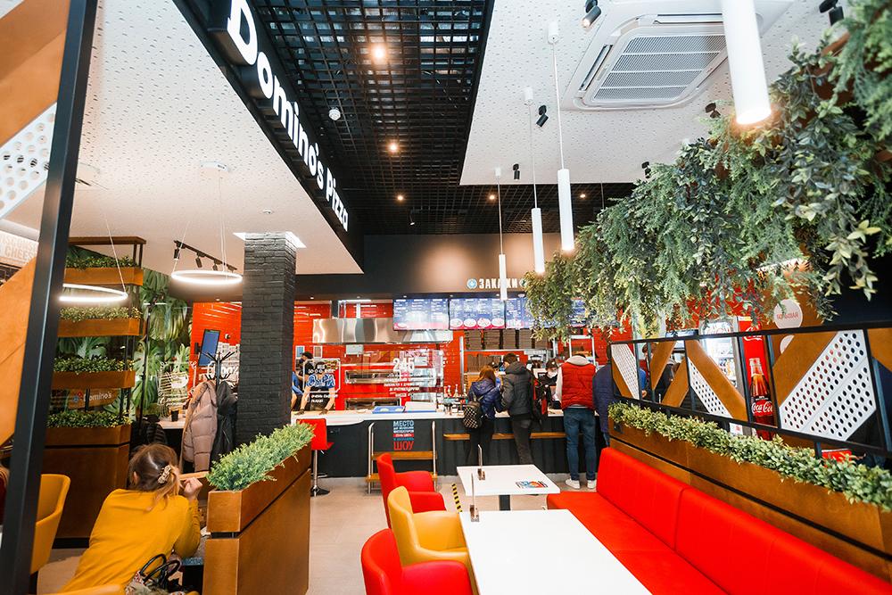 Первые пиццерии Domino's в Беларуси модернизируются по последним канонам дизайна и эргономики.