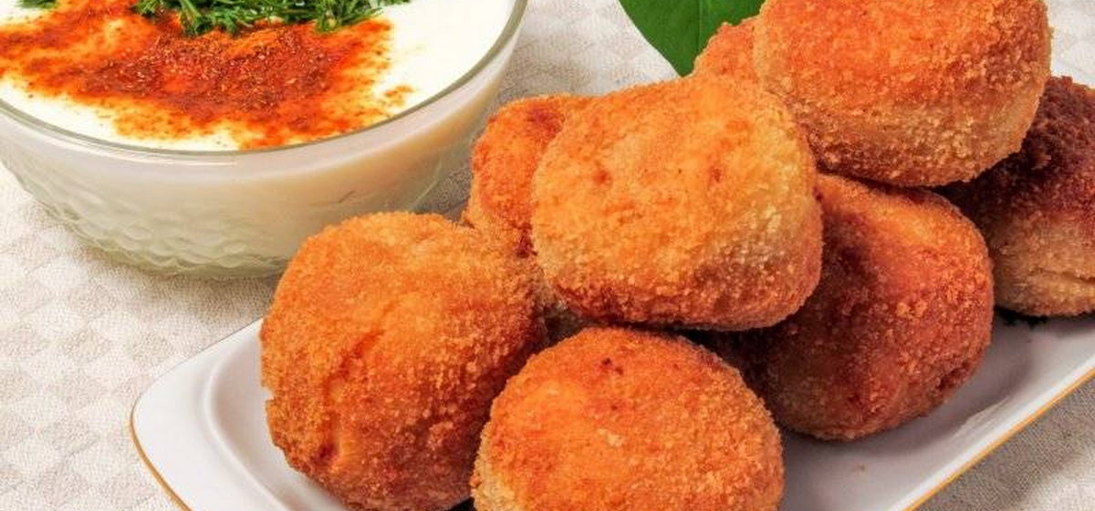 Вкусно и просто. Картофельные шарики-зразы с грибами