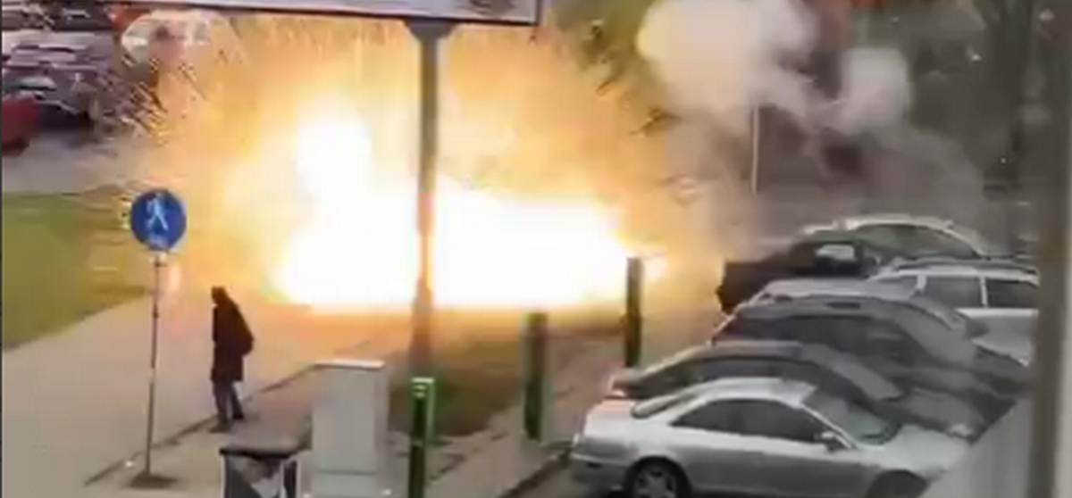Что взорвалось сегодня перед камерами съемочной группы СТВ?