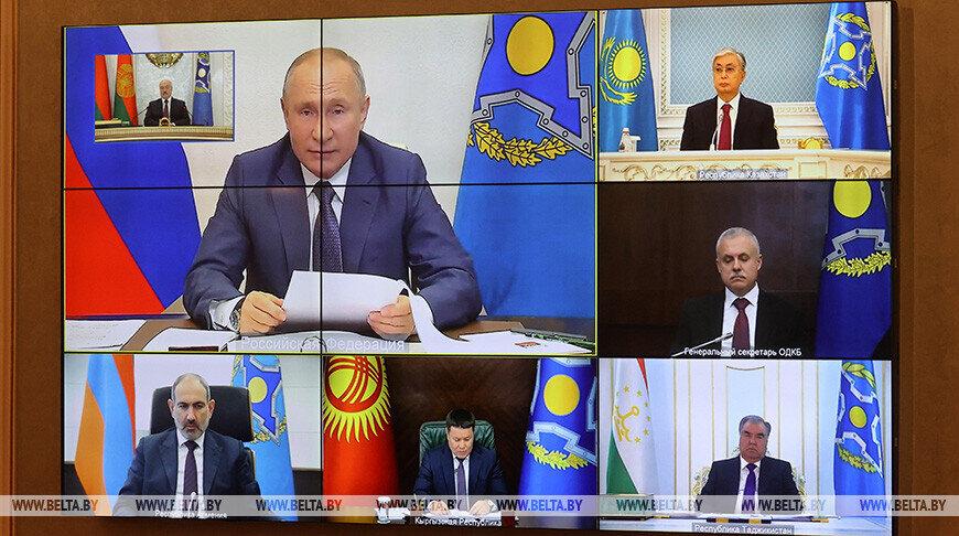 Путина беспокоит вмешательство во внутренние дела Беларуси извне