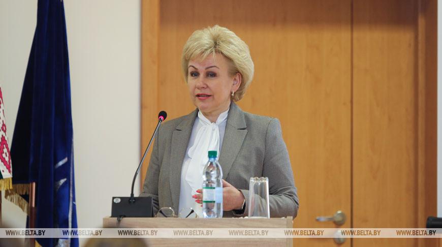 Министр труда и социальной защиты Ирина Костевич. Фото БЕЛТА