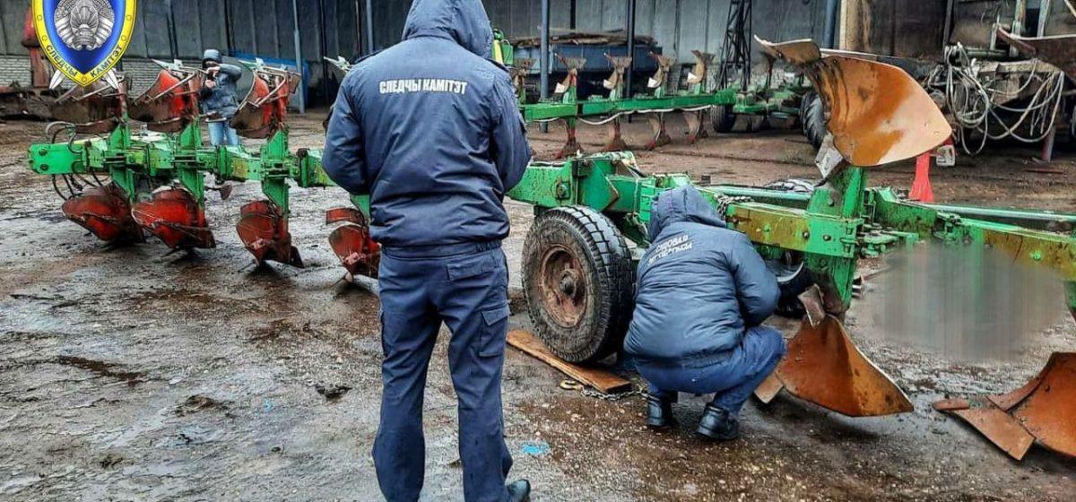 Плуг сорвался с домкрата и насмерть придавил мужчину в Слонимском районе