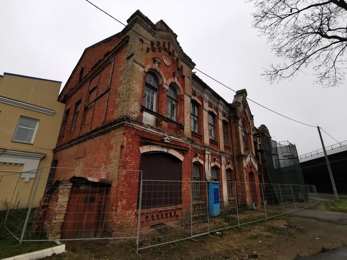 Бывшее здание акцизного управления в Барановичах. Фото: Виктор БОРИСЕВИЧ
