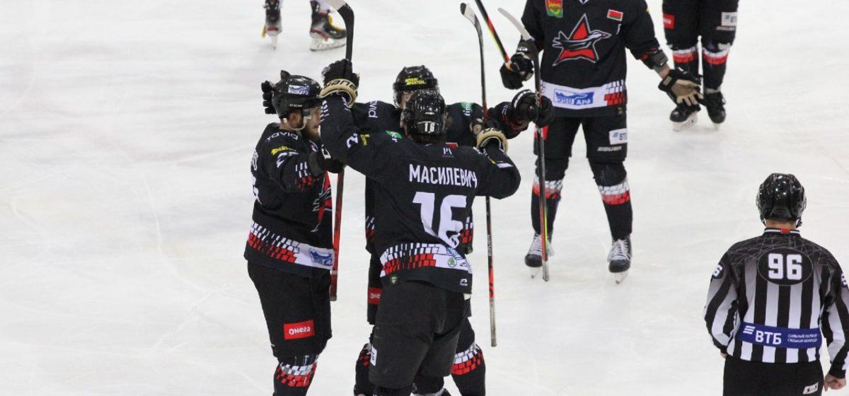 Кто выиграл в буллитной серии хоккейного «Авиатора» и «Пинских ястребов»?