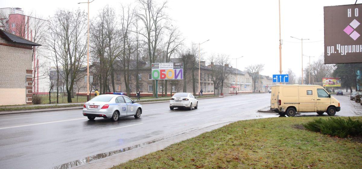 «Фольксваген» и «Форд» столкнулись в Барановичах