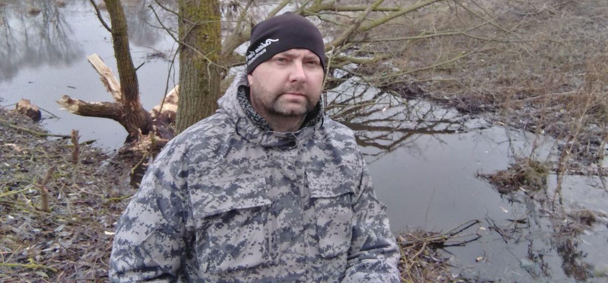Евгений Калач на одной из экологических экспедиций. Фото: архив Евгения КАЛАЧА