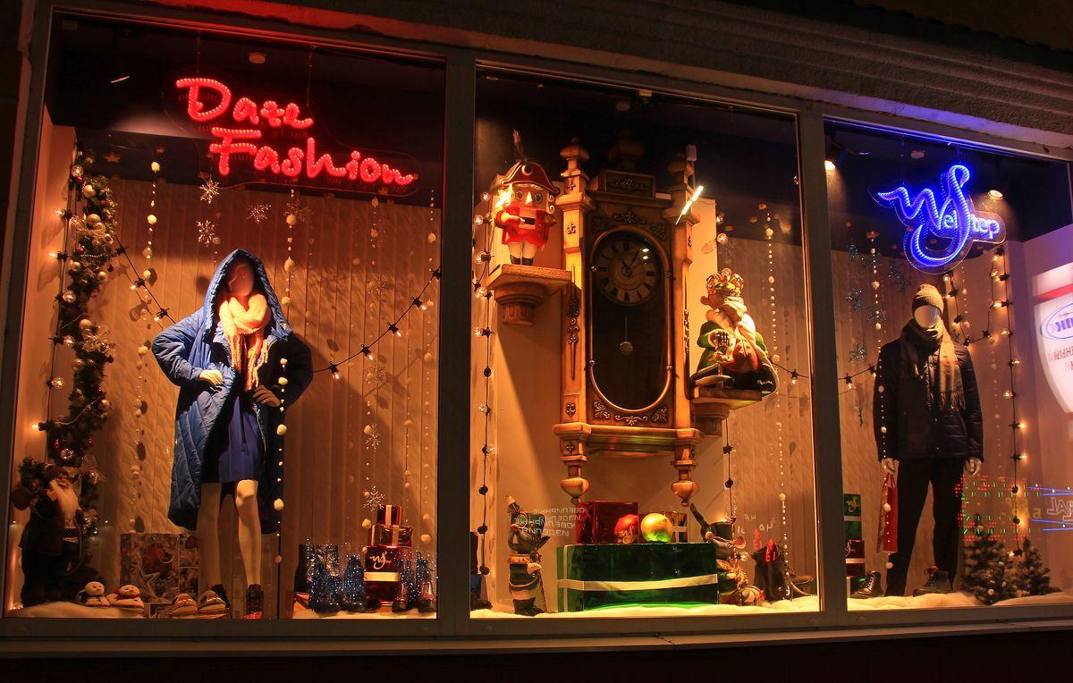 Витрина одного из центральных магазинов. Фото: Никита ПЕТРОВСКИЙ