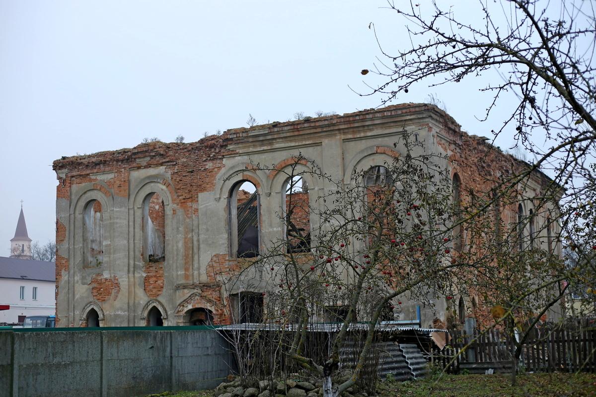 Руины синагоги. Фото: Никита ПАСТУХОВ