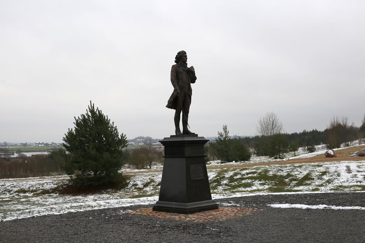 Памятник Тадеушу Костюшко в Коссово. Фото: Никита ПАСТУХОВ
