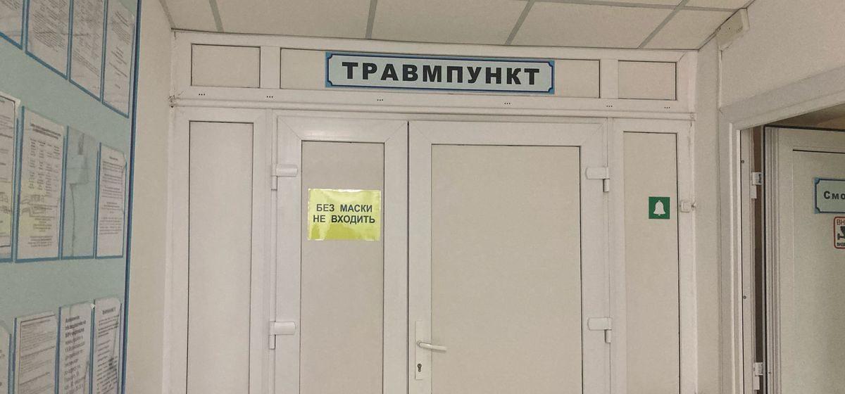«Из магазина шла и как шлепнулась!». Сколько человек обратилось за медпомощью из-за гололеда в Барановичах?