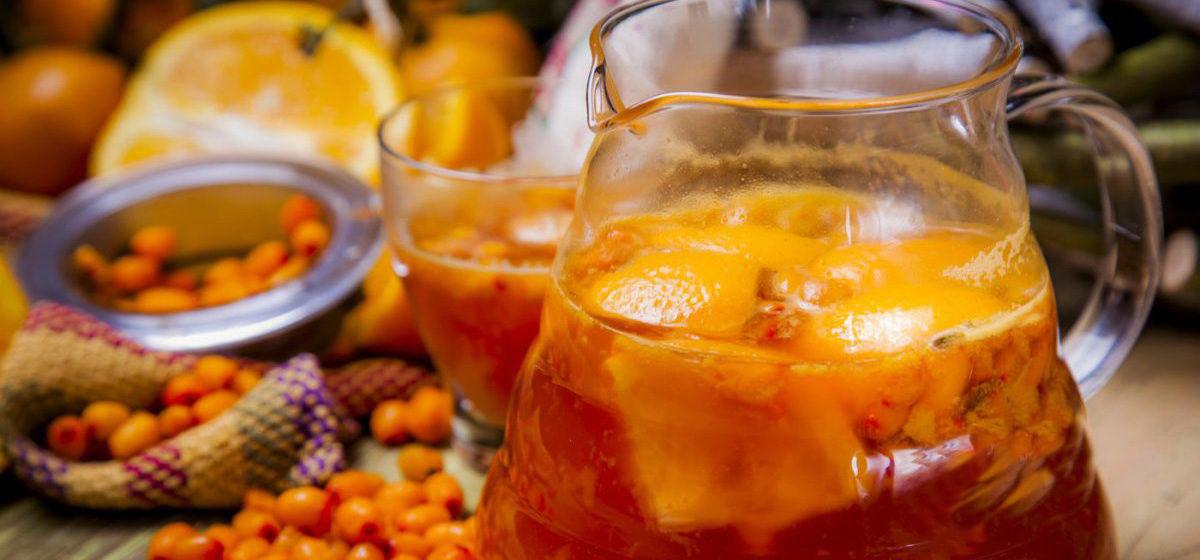 Вкусно и просто. Сбитень с облепихой и апельсином