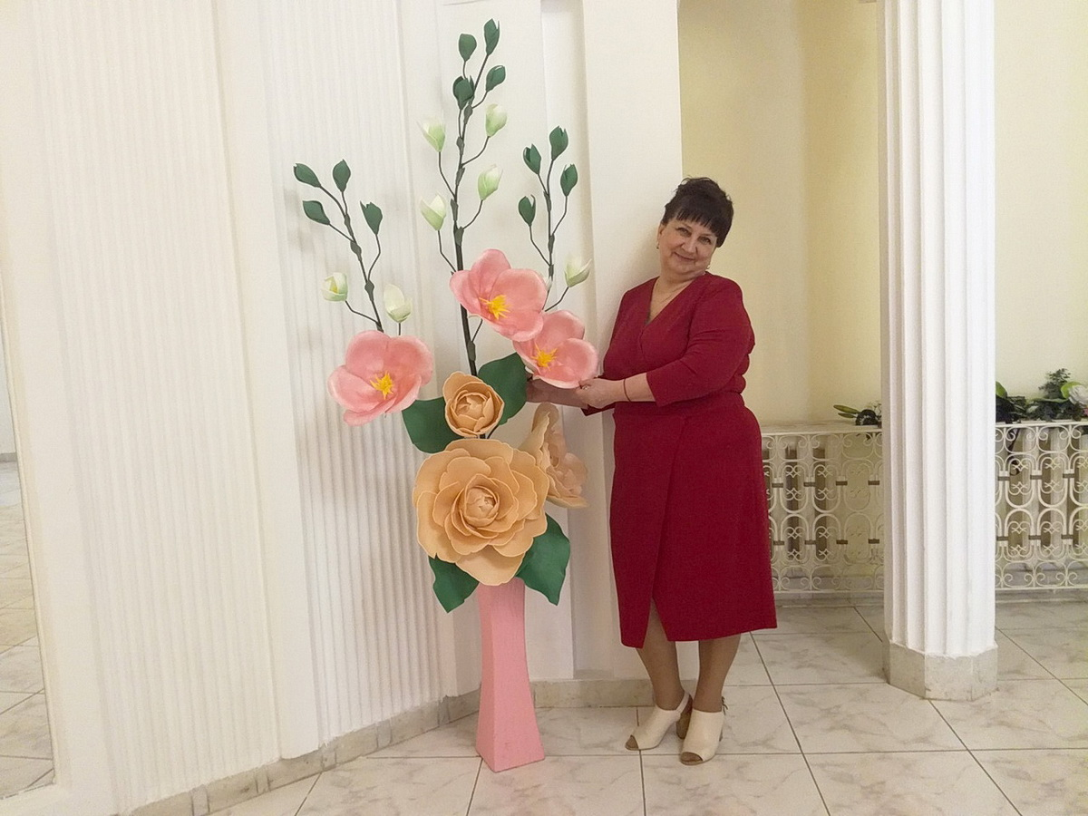 Людмила Погорелова. Фото: архив Людмилы ПОГОРЕЛОВОЙ
