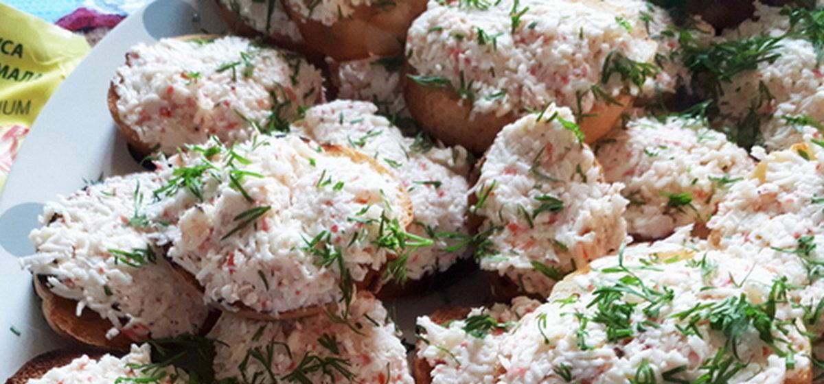 Вкусно и просто. Бутерброды «Новогодние снежки»