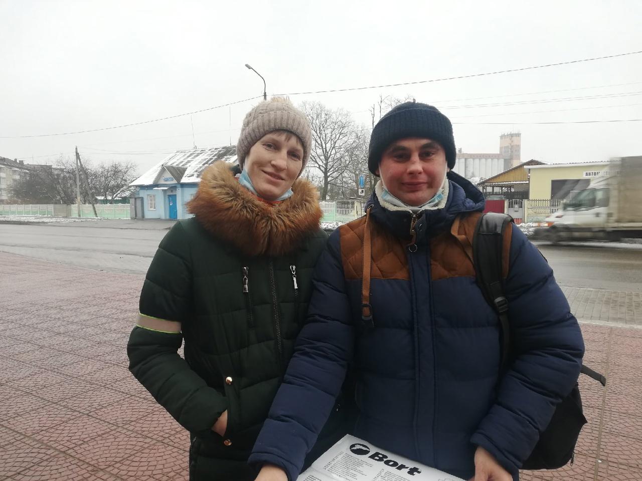 Юля и Юрий. Фото: Кристина СОБИНСКАЯ