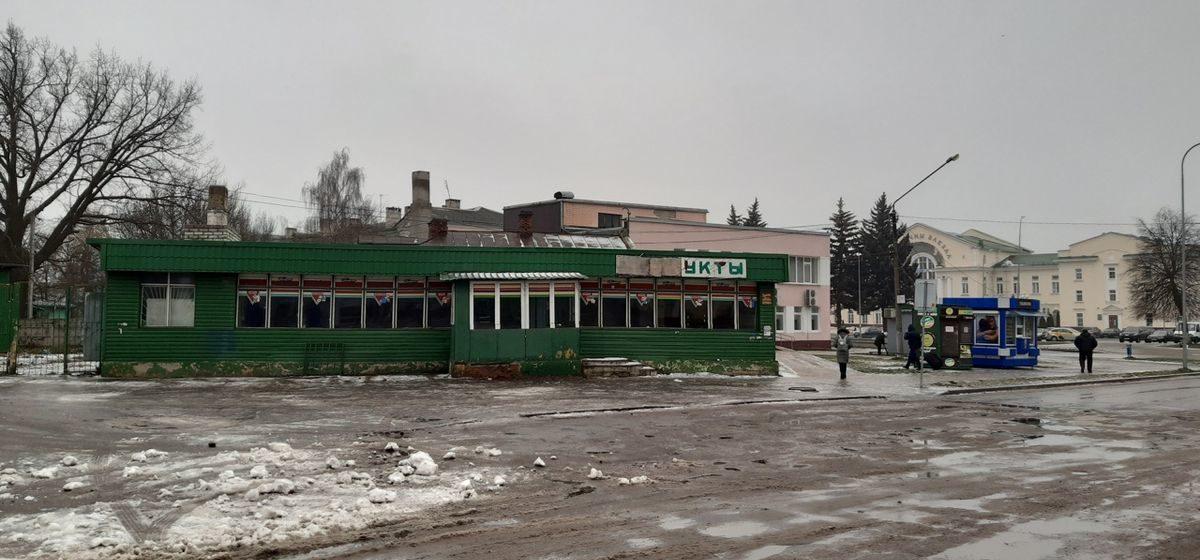 Возле Полесского вокзала в Барановичах появится новый торговый центр