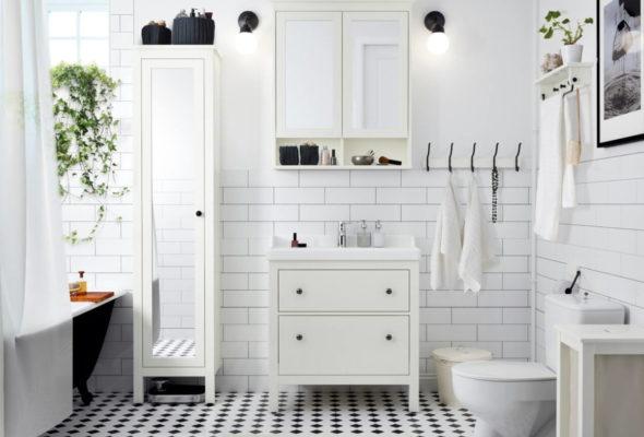 Идеи шкафов в ванную