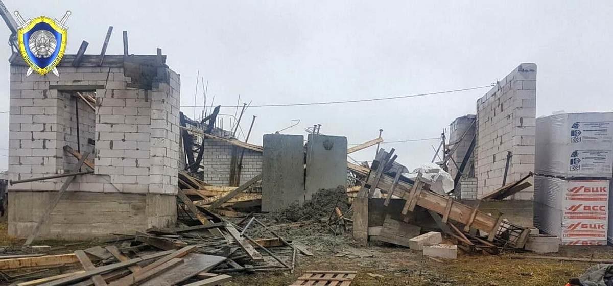 Обвалились перекрытия. Два человека погибли при строительстве частного дома в Гродно