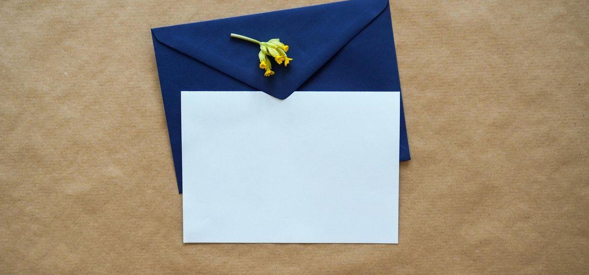 Как написать письмо политзаключенному. Рассказывает специалист по этикету