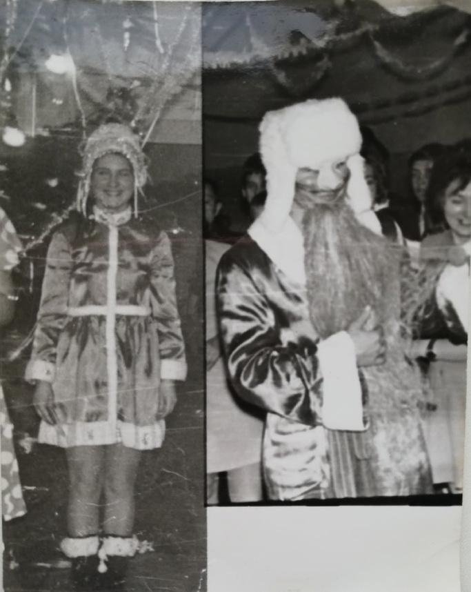 Людмила на утреннике в девятом классе. Фото: архив Людмилы ПОГОРЕЛОВОЙ