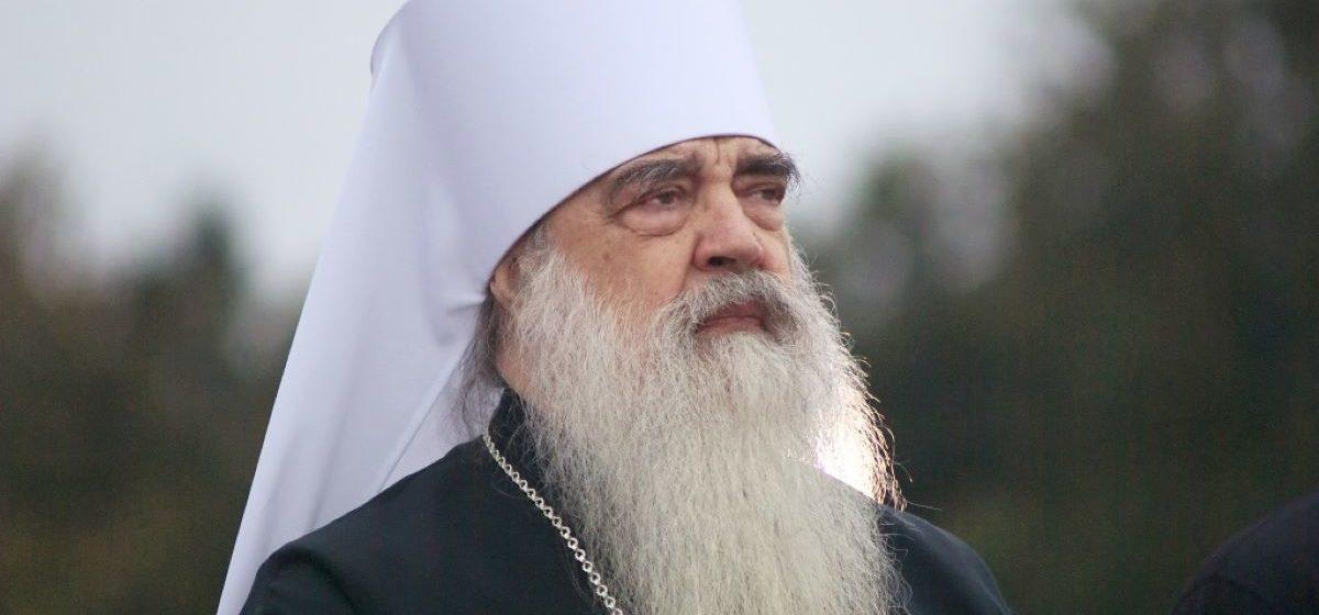 Умер митрополит Филарет. Он лежал в больнице с коронавирусом
