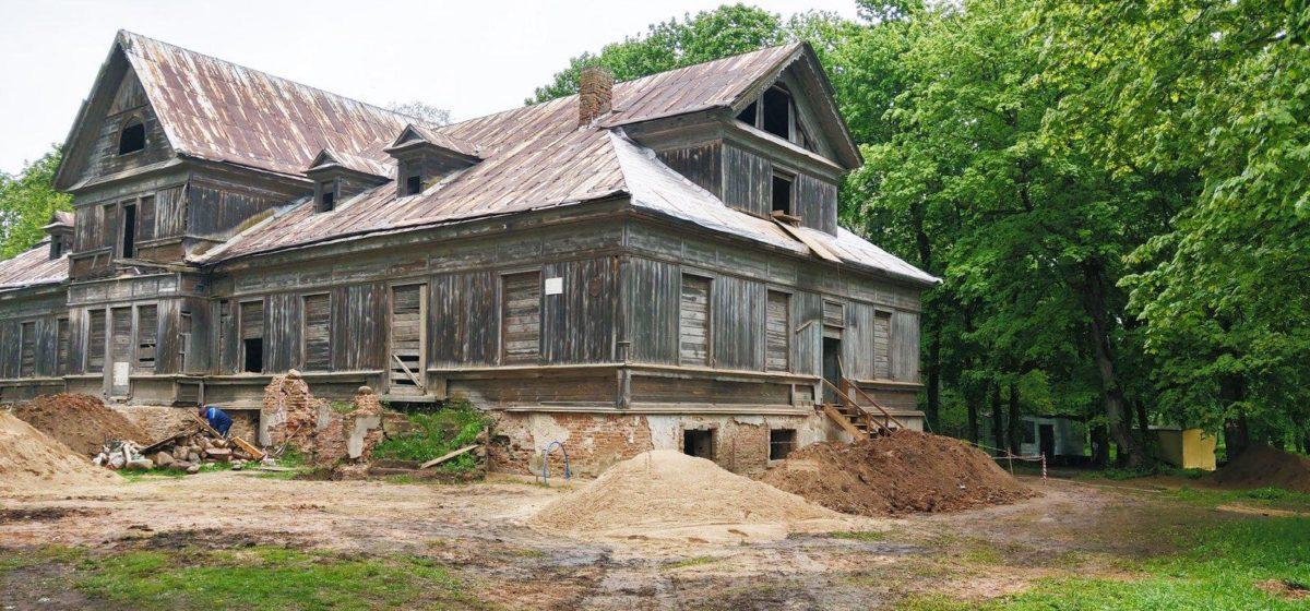 В фамильной усадьбе Рейтанов под Барановичами найдены уникальные артефакты