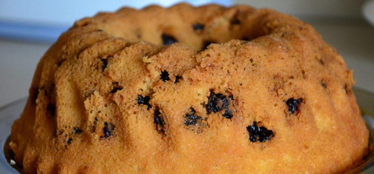 Вкусно и просто. Пирог с вареньем на кефире