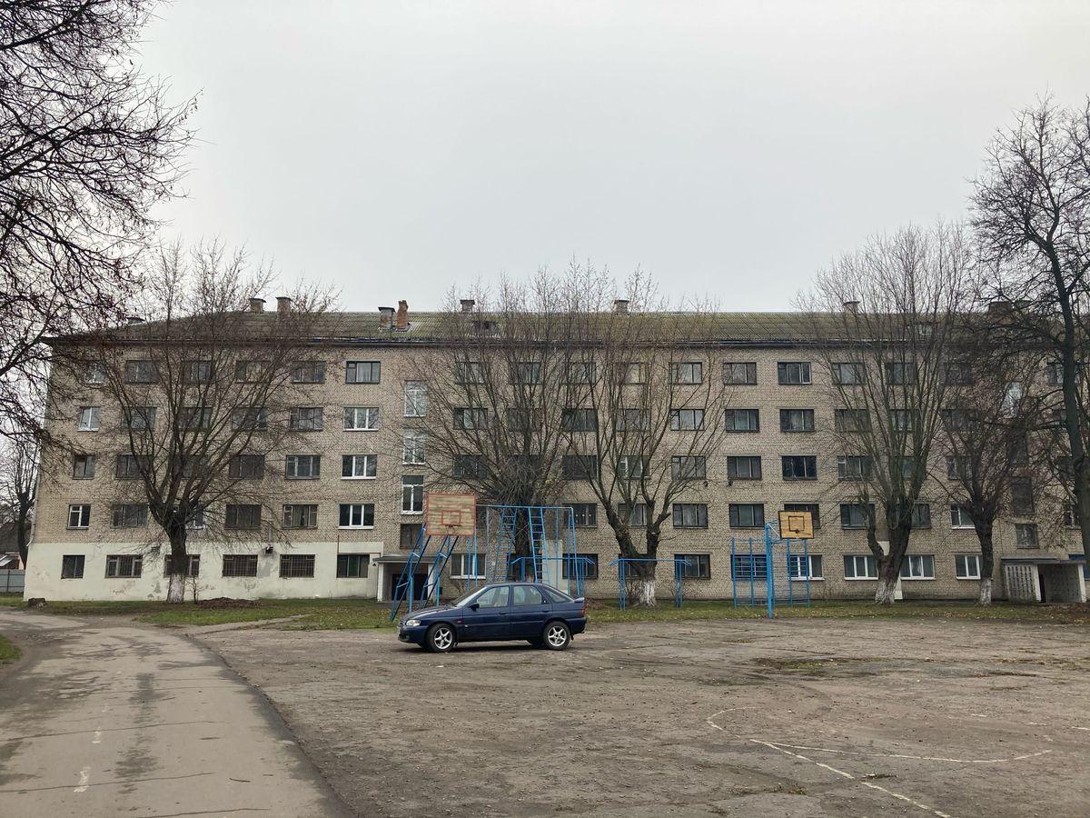 Общежитие Барановичского технологического колледжа на улице Брестская, 13. Фото: Диана КОСЯКИНА
