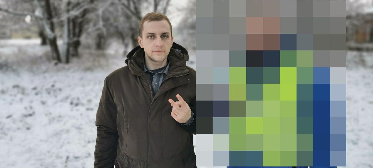 Человек-мем «хлопотное дельце» был замечен в Барановичах. Фотофакт