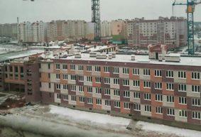 Как выглядит строящаяся школа в Барановичах. Фотофакт