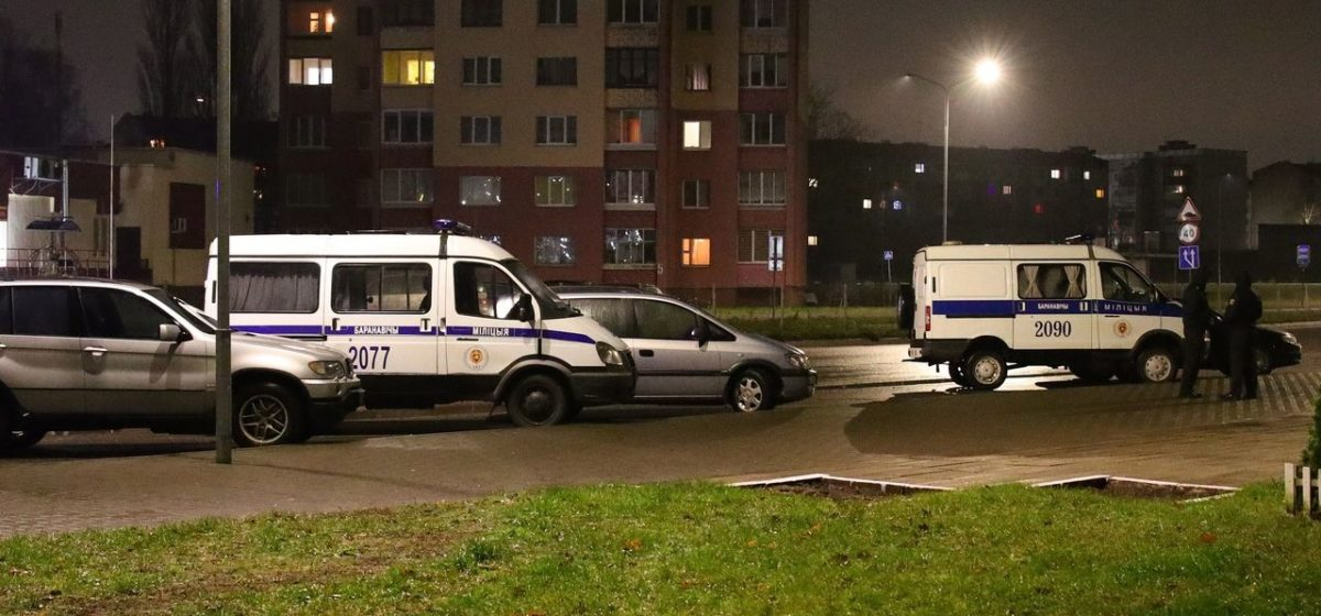 Задержали водителя, сбившего насмерть пешехода и покинувшего место ДТП в Барановичах