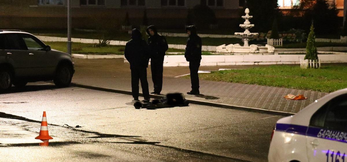 Мужчина с признаками насильственной смерти обнаружен на автомобильной парковке в Барановичах