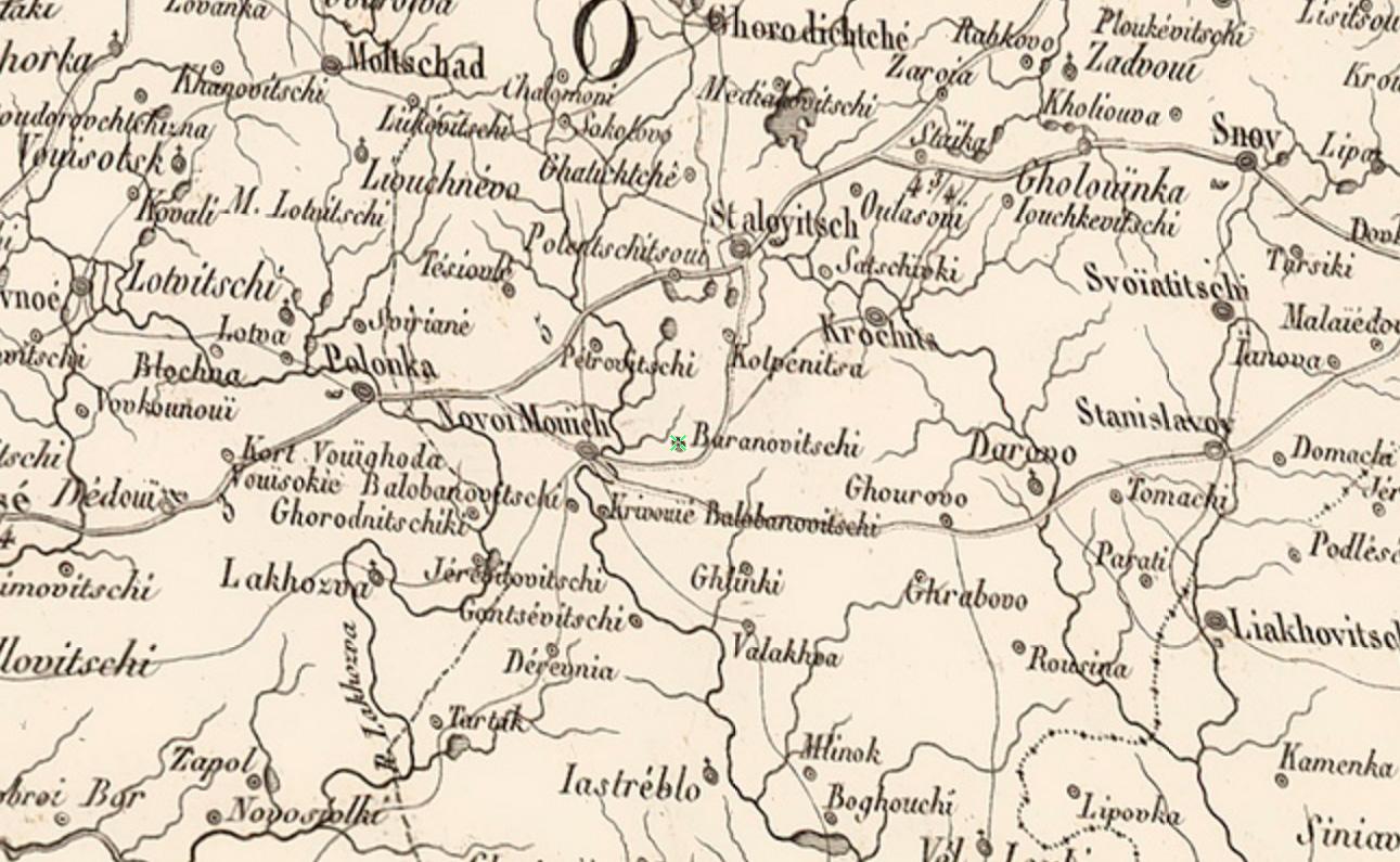 Карта «Carte de la Russie Europeenne en LXXVII feuilles executee au Depot general de la Guerre», 1812 года