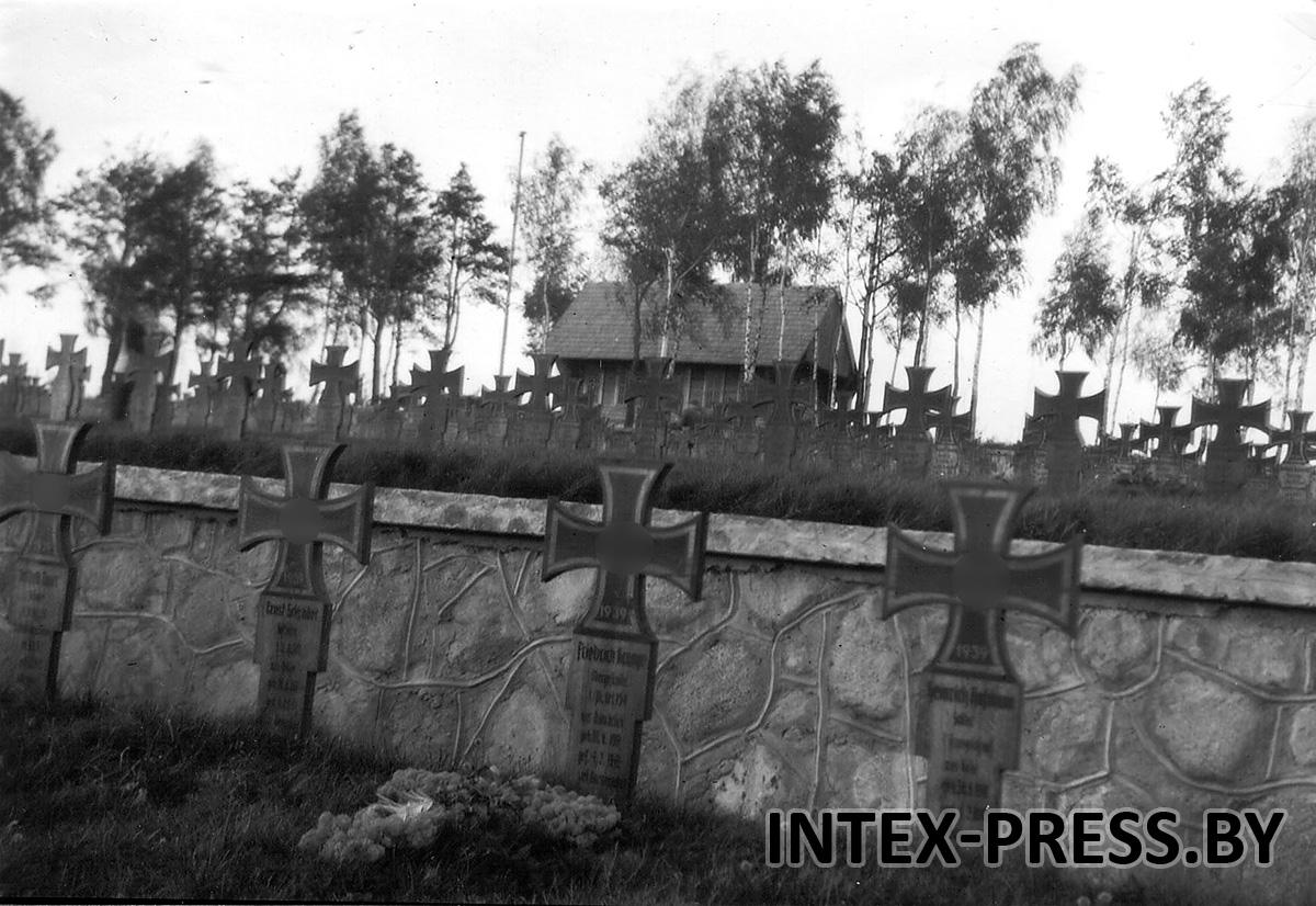 Барановичи. Кладбище в Северном, 1943 год. Фото: Instagram @baranavichy_
