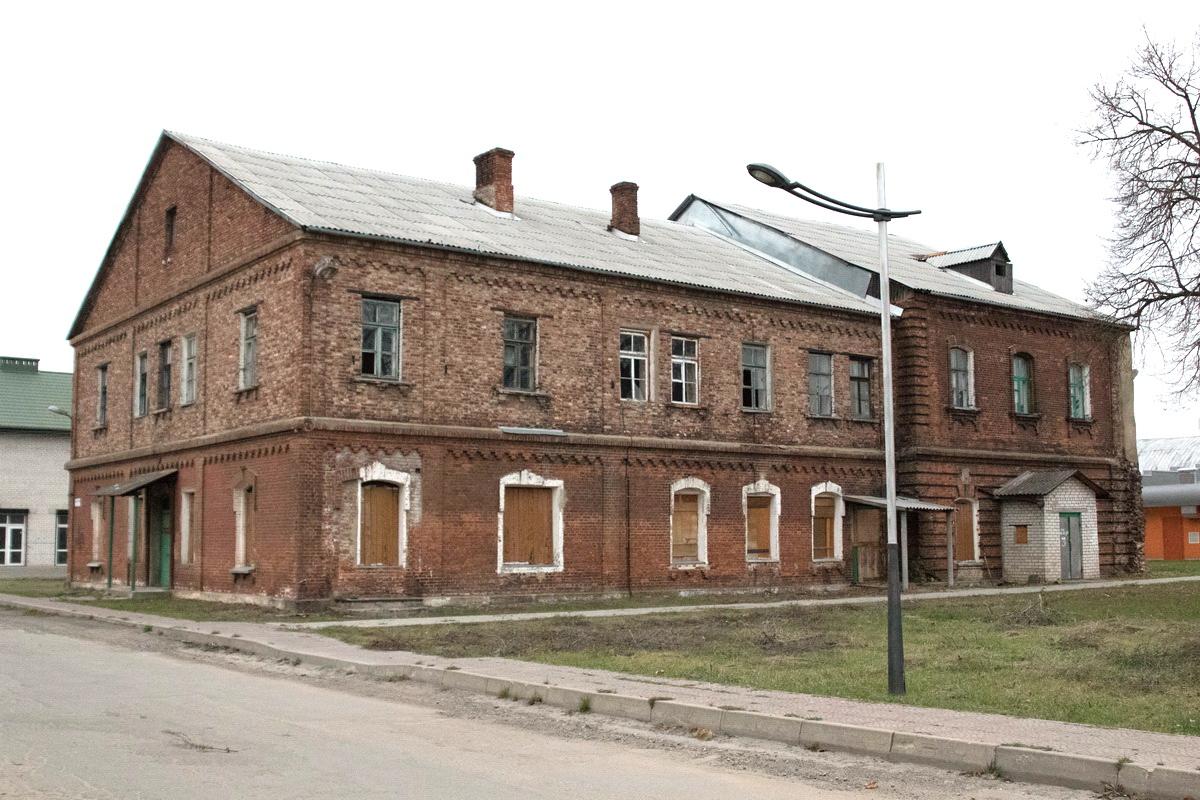 Бывший жилой дом на улице Хлебной. Фото: архив Intex-press