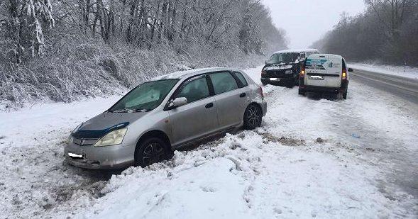 Барановичские водители угодили в двойное ДТП под Ляховичами