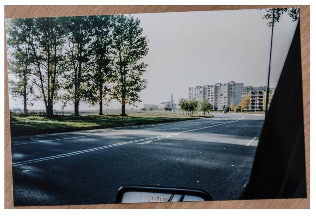 Барановичи. Тополя на улице Тополевой до строительства церкви. Фото: Instagram @baranavichy_