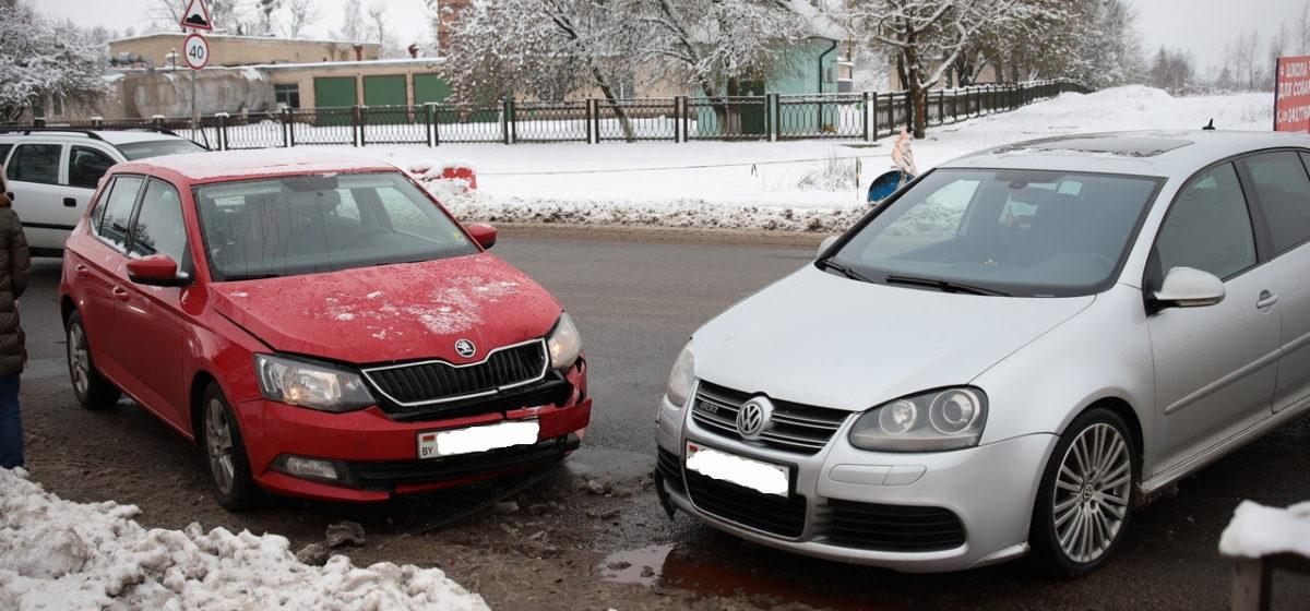 ДТП в Барановичах. Автомобиль развернуло и вынесло на встречку