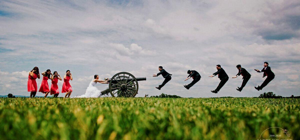 Подборка самых блестящих и креативных свадебных фото десятилетия. Это очень красиво!