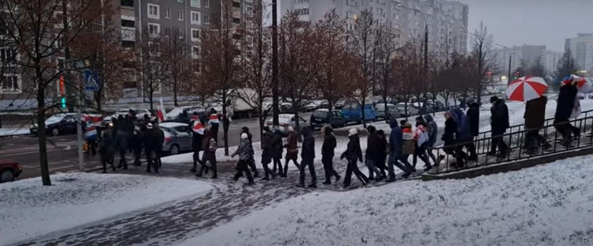 Первые в 2021 году акции протеста. Что происходит в Беларуси 3 января